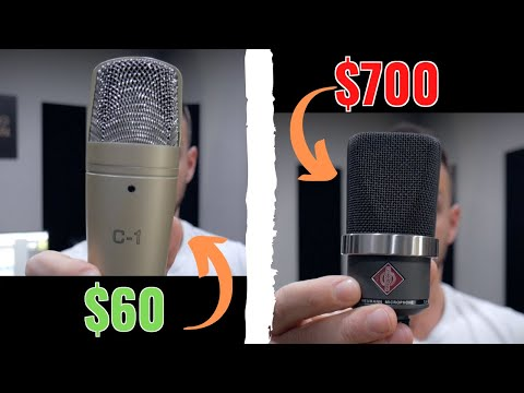 $60 Microphone vs $700 Microphone (with and without plugins) – RecordingRevolution.com