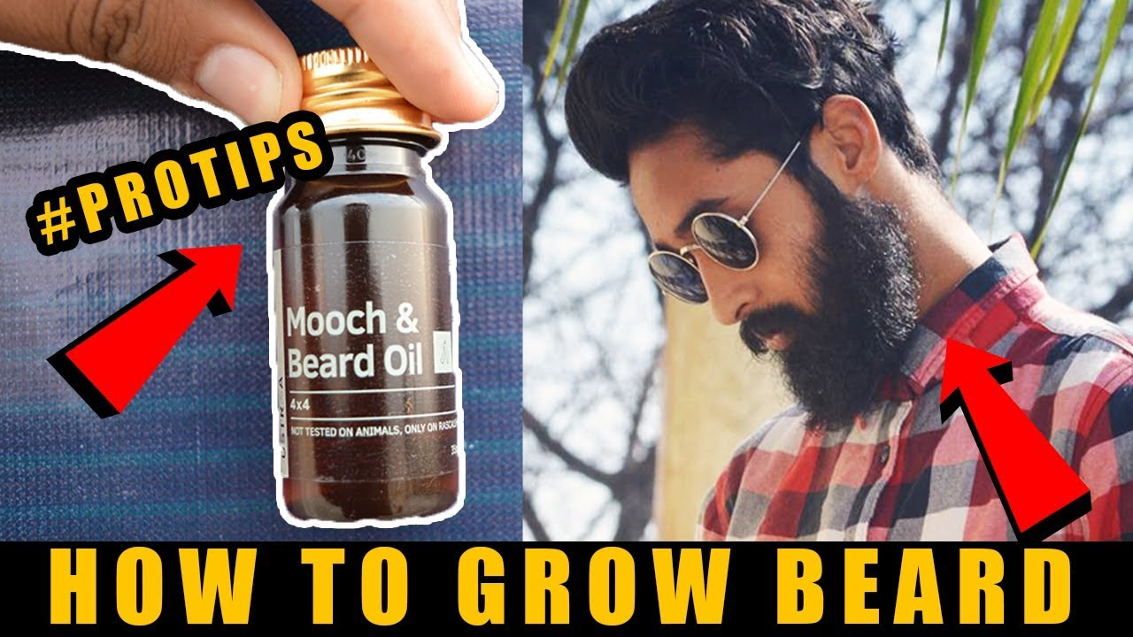 How To Ly Beard Oil In Hindi Grooming And Growth