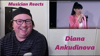 Reaction to Diana Ankudinova Диана Анкудинова singing Кони привередливые Fastidious Horses live