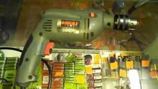 Дрель ударная Sigma Power 500W. Обзор инструмента