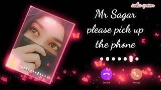 Mr Sagar please pick up the phone ll Saba Queen   