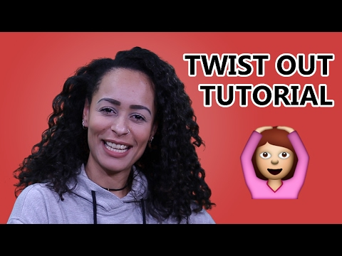 😀 Curly Twist Out Look ⚡ JAM FM Style Chronicle