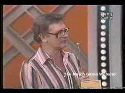 Charles Nelson Reilly Host Match Game?!?!