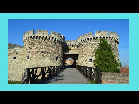 A night tour of the historic Belgrade Fortress (Serbia)