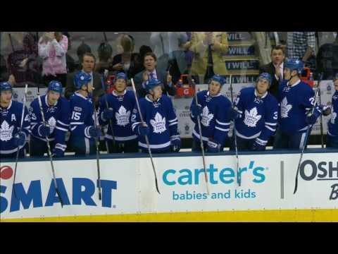 Joe Bowen Honoured  At Air Canada Centre For Calling 3000th Game