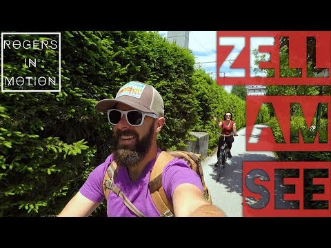 Cycling around Zell Am See (Austria Travel Vlog)