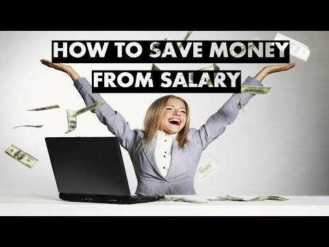How To Save Money From Salary (Practical Example)