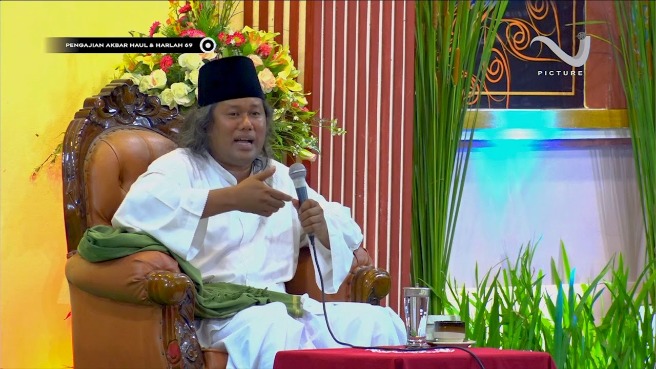 Kh Ahmad Muwafiq Sleman Yogyakarta Di Pp Nurul Jadid Paiton Probolinggo Youtube
