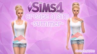 The Sims 4: Создание персонажа - Персонаж Лето(СКАЧАТЬ - #sweetgame #swtgm Origin ID - SwtGm Vk - https://vk.com/swtgme Группа - https://vk.com/swtgm Instagram - https://www.instagram.com/swtgme ..., 2015-09-01T13:22:22.000Z)