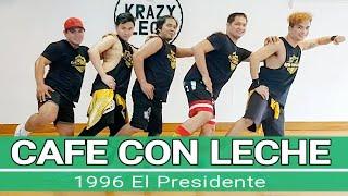 CAFE CON LECHE by El Presidente  RFI   RETRO FITNESS INTERNATIONAL   Jerry Babon