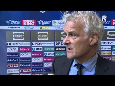 Fred Rutten na afloop van Willem II - Feyenoord