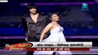 Tune mere jana kabhi nahi jana Dance India Dance Season 3 Jan14  2012