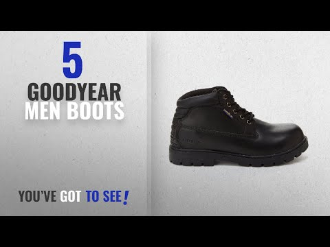 Top 10 Goodyear Men Boots [ Winter 2018 ]: Goodyear Mason Mens Chukka Boot - Steel Toe, Slip & Oil