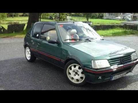 mi ex coche peugeot 205 roland garros f2 youtube. Black Bedroom Furniture Sets. Home Design Ideas
