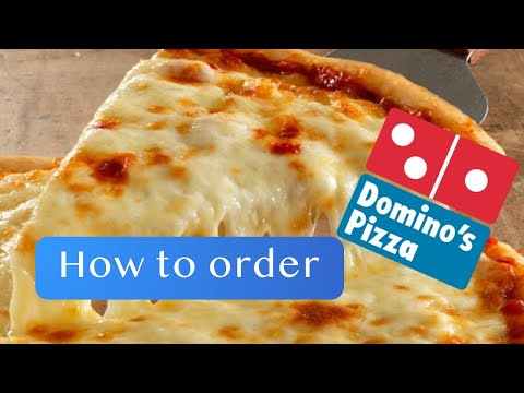 How To Order Domino's Pizza - English Conversation