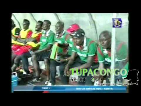 RDC vs KENYA match Amical du 04 octobre 2016