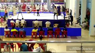 Live Boxing In A Ring
