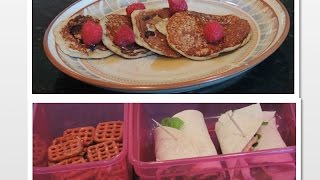 Healthy school breakfast and lunch ideas! Thumbnail