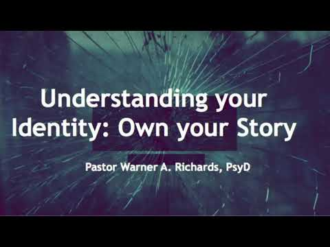 """Dr. Warner A. Richards - Understanding Your Identity: """"Own Your Story"""" - 12.2017 Linden SDA"""
