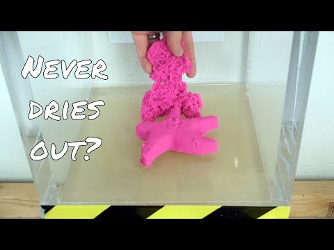 What Happens to Kinetic Sand in a Vacuum Chamber? Satisfying Vacuum Chamber Experiment!