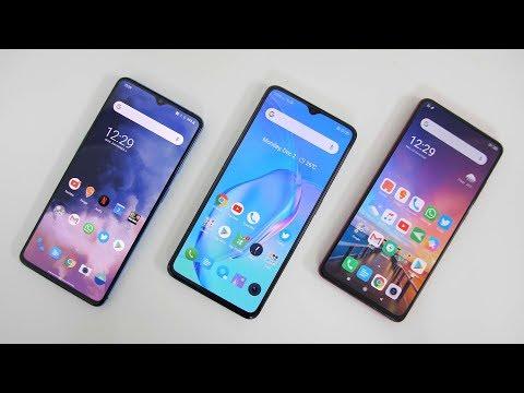 Realme X2 Pro vs Redmi K20 Pro vs OnePlus 7T - 10 Point Comparison
