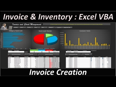Excel VBA -- Invoice and Stock Management - Excel 2013 The Invoice