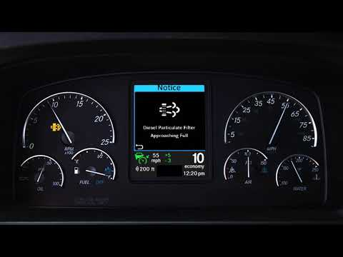 Parked Regen GHG17 New Dash Cluster - Overview Training Video