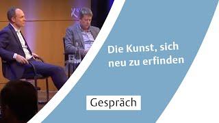 Die Kunst, sich neu zu erfinden - Gespräch mit Christoph Keese und Nikolaus Röttger
