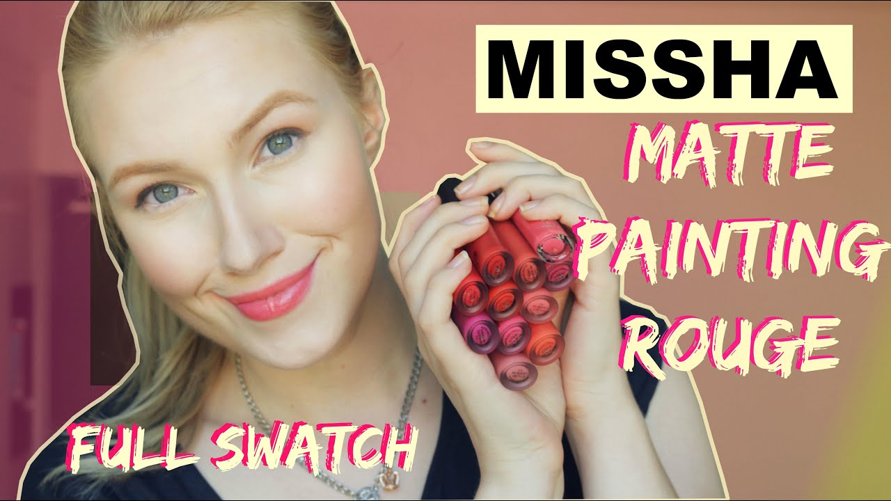 Missha Matte Painting Rouge