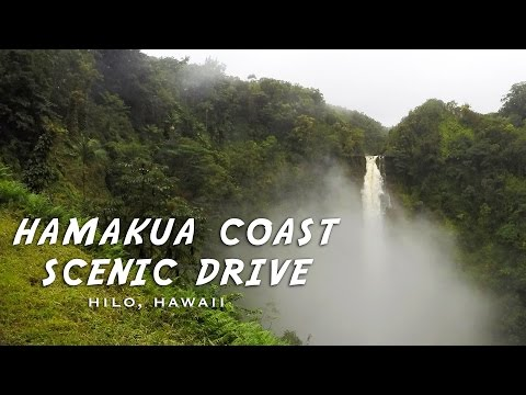 Beautiful drive on the  Big Island - Day 1 in Hawaii