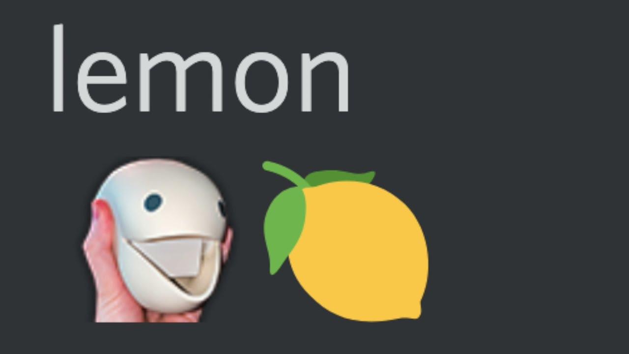 otamatone eats a lemon and dies
