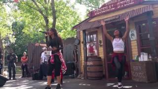 Ieshia performing 90s Baby w/Signature Dancers
