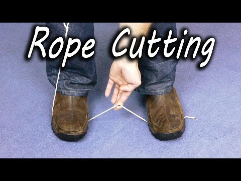 how-to-cut-rope-wihtout-scissors