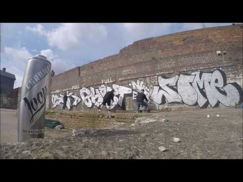 Graffiti - Ghost EA, Osek EA & Some NHS - Chrome Killers Episode 2