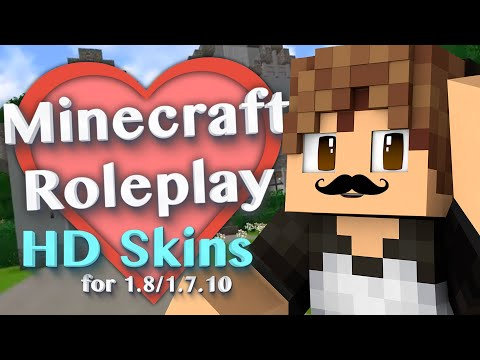 HD Skins in Minecraft! with More Player Models 2 Mod (Minecraft Roleplay Tutorial) #2