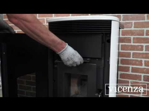 Vicenza Pellet Stoves - How to Clean the Heat Exchanger