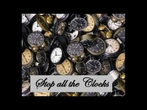 stop all the clocks cut off the telephone poem