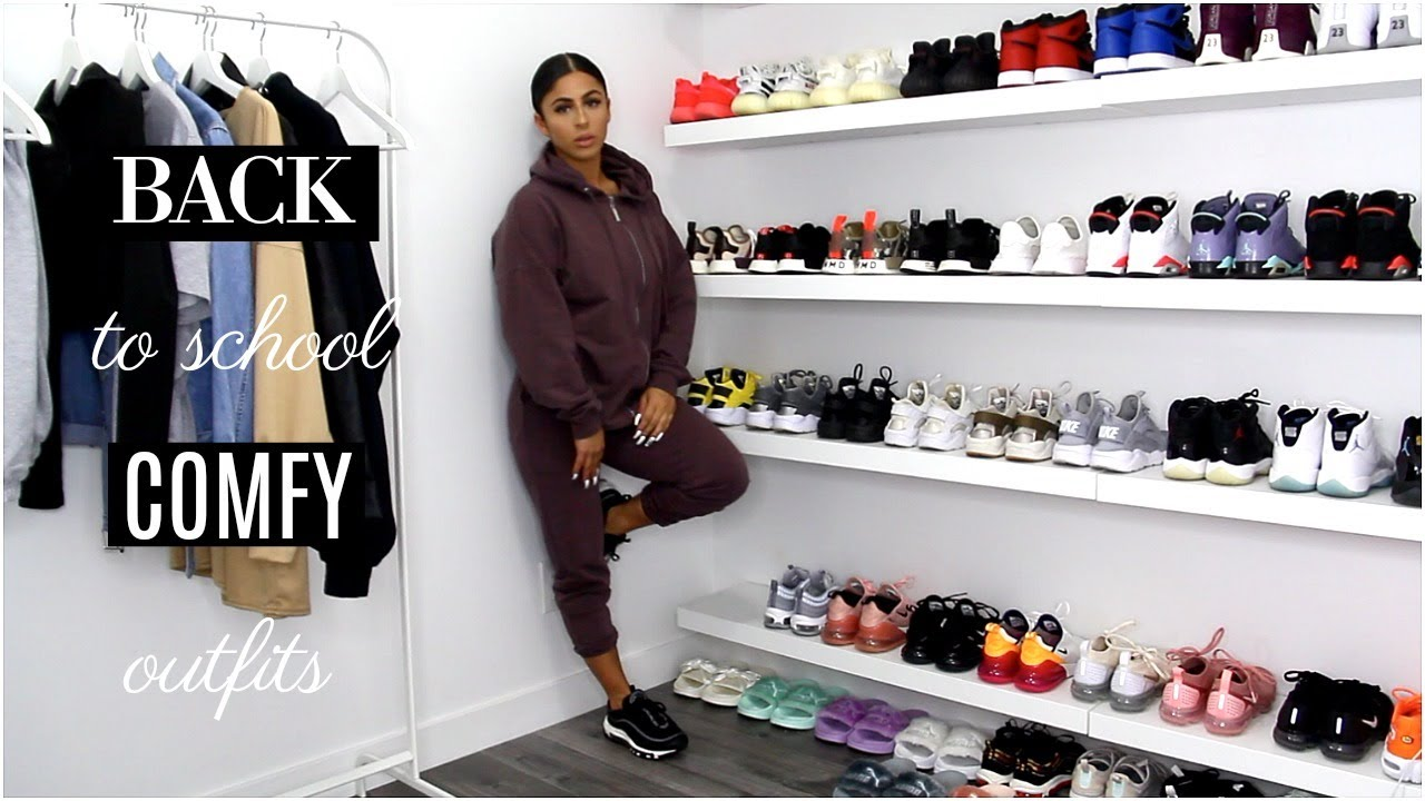BACK TO SCHOOL COMFY OUTFITS 2019 | A LOOKBOOK
