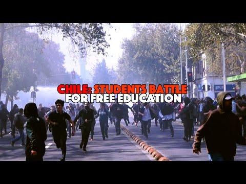 Chile: Students Battle for Free Education