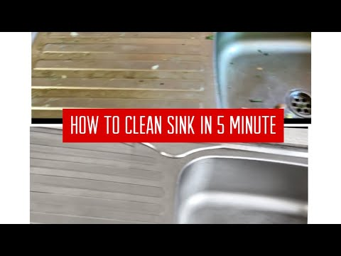How to clean a kitchen Stainless Sink||Bindu's life vlogs bd
