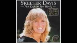 Download I CANT EVEN SAY GOODBYE BY SKEETER DAVIS MP3 song and Music Video