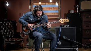 Fender American Elite Precision Bass RW 3-Color Sunburst Demo