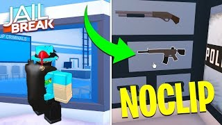 HOW TO *NOCLIP* LOOK THROUGH WALLS IN JAILBREAK! GLITCH (Roblox)