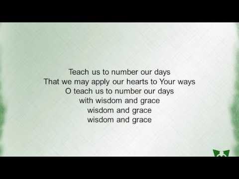 Wisdom & Grace (Psalm 90) by Sandra McCracken