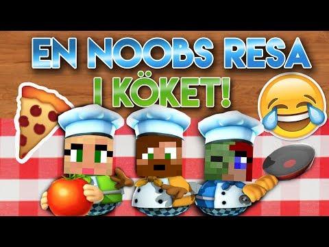 En Noobs Resa i Köket! 🤣🍕 Med Ufosxm & KomIgenLena