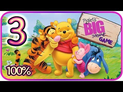 Piglet's Big Game Walkthrough Part 3 (PS2, Gamecube) Roo's Dream Part 2 [100% - HD]