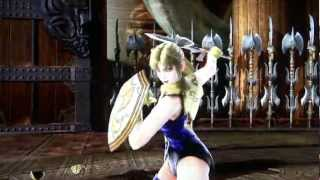 Soul Calibur 4 - Cassandra Sexy Critical Finish Move on Taki R…