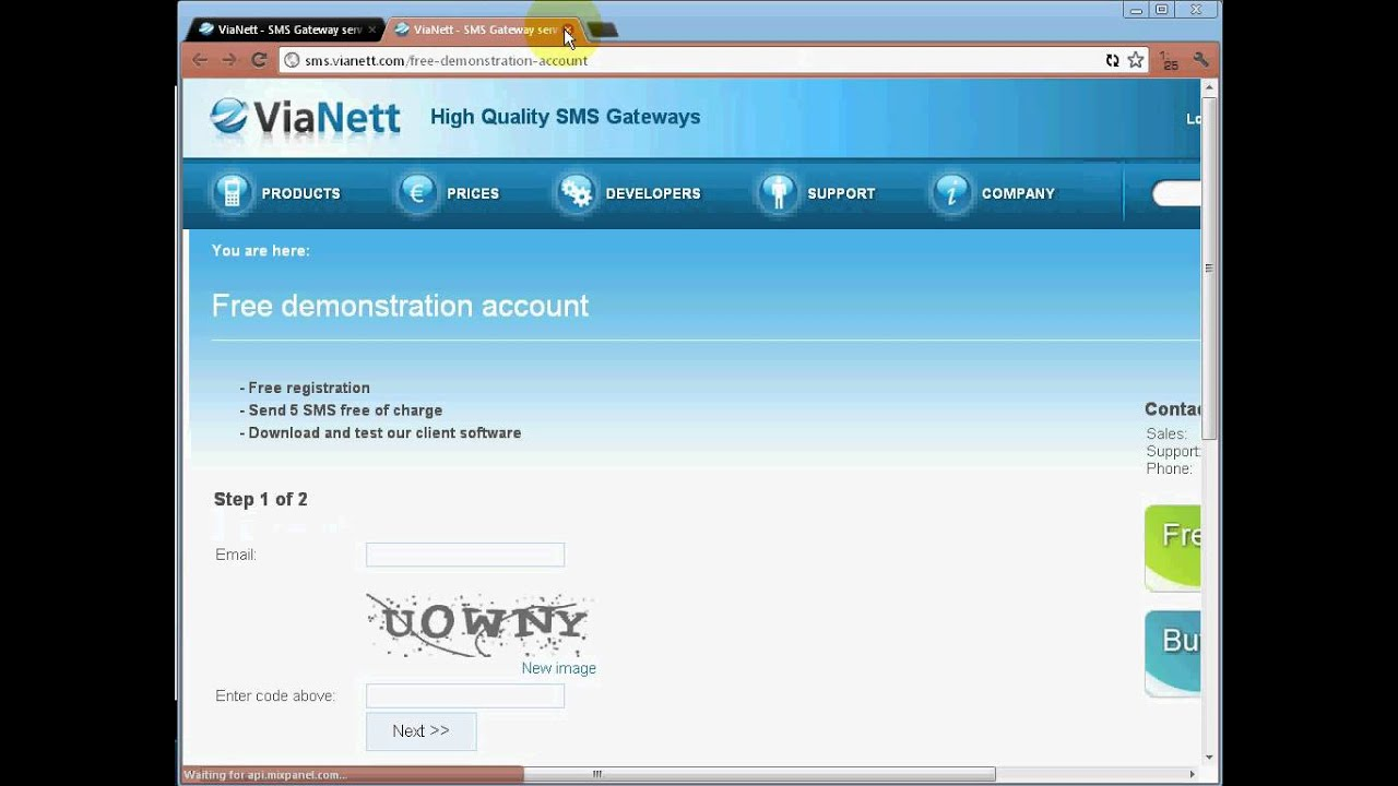 free sms from pc to phone
