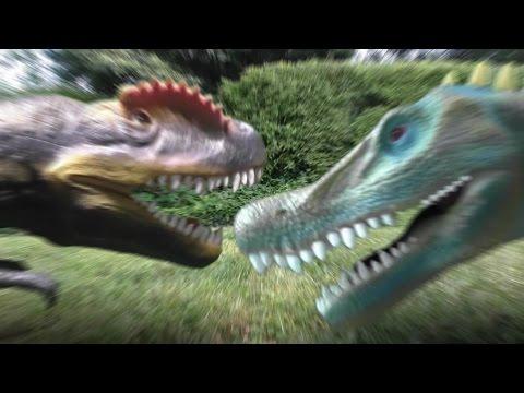 Dino Duels Ep. 5-  Allosaurus vs Spinosaurus