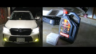homepage tile video photo for 2015 Subaru Forester XT Ep.139: Oil Change #9 at 48,614 miles